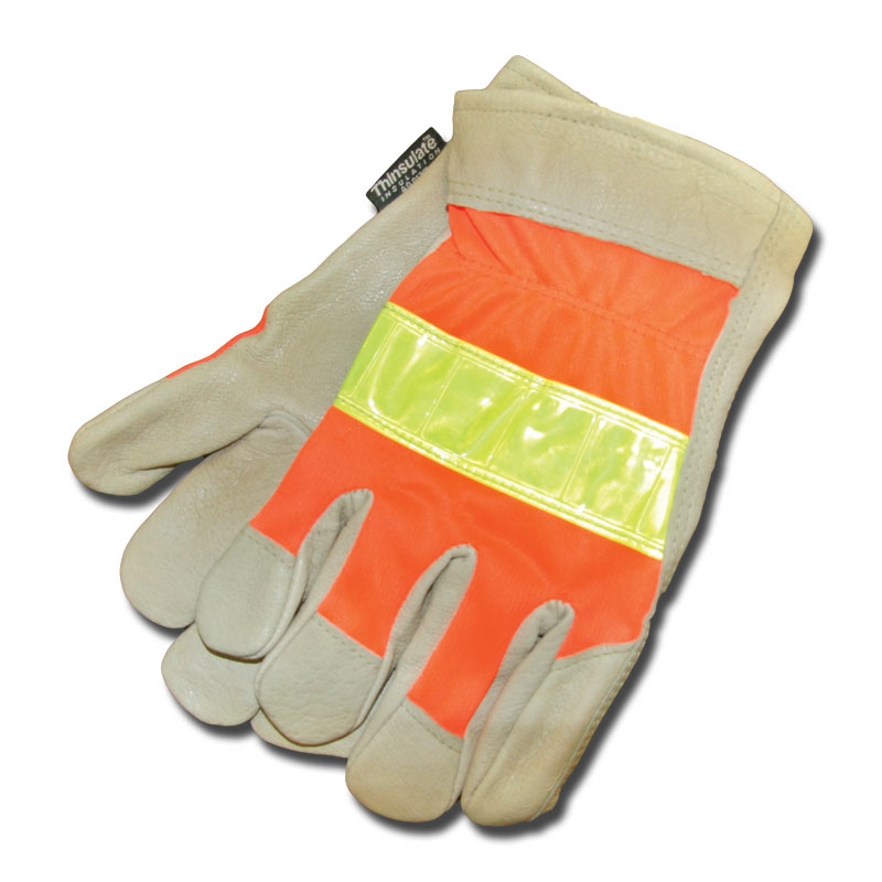 Red Steer Gloves : Xl red steer thinsulate gloves