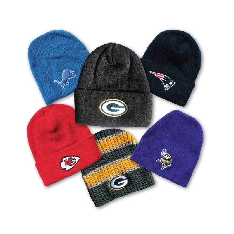 Embroidered Nfl Stocking Caps H
